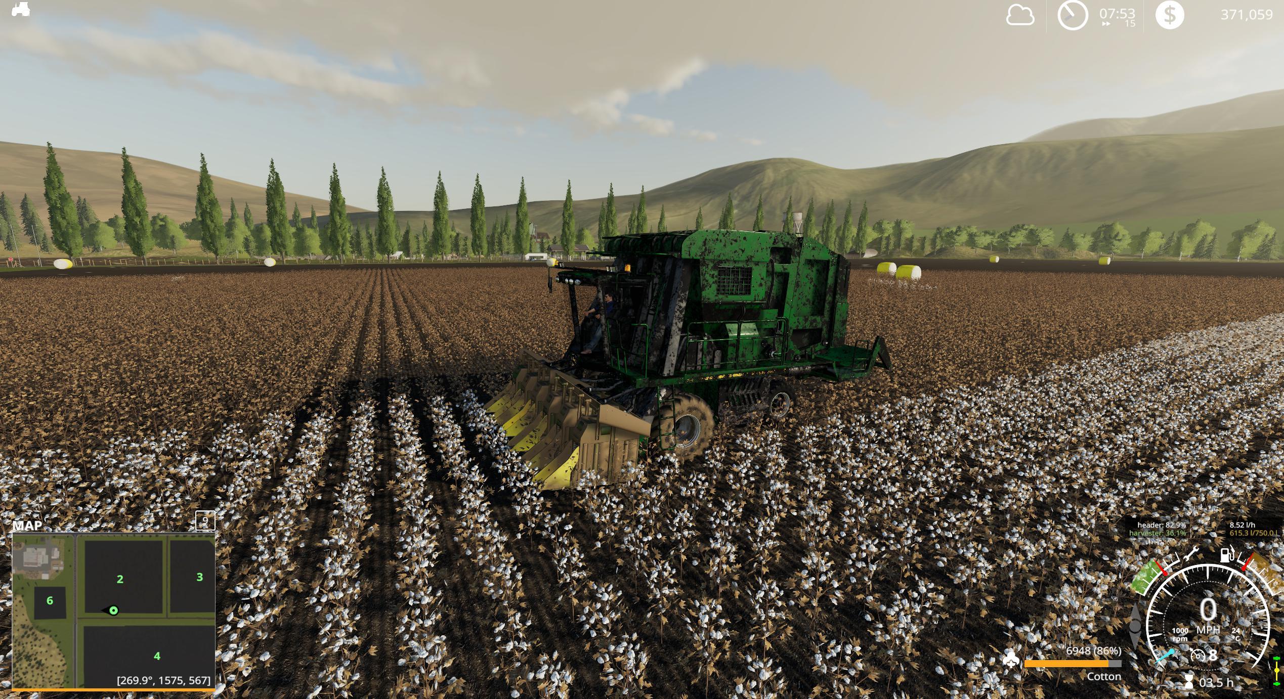 John Deere 7760 Cotton Baler v 1.0