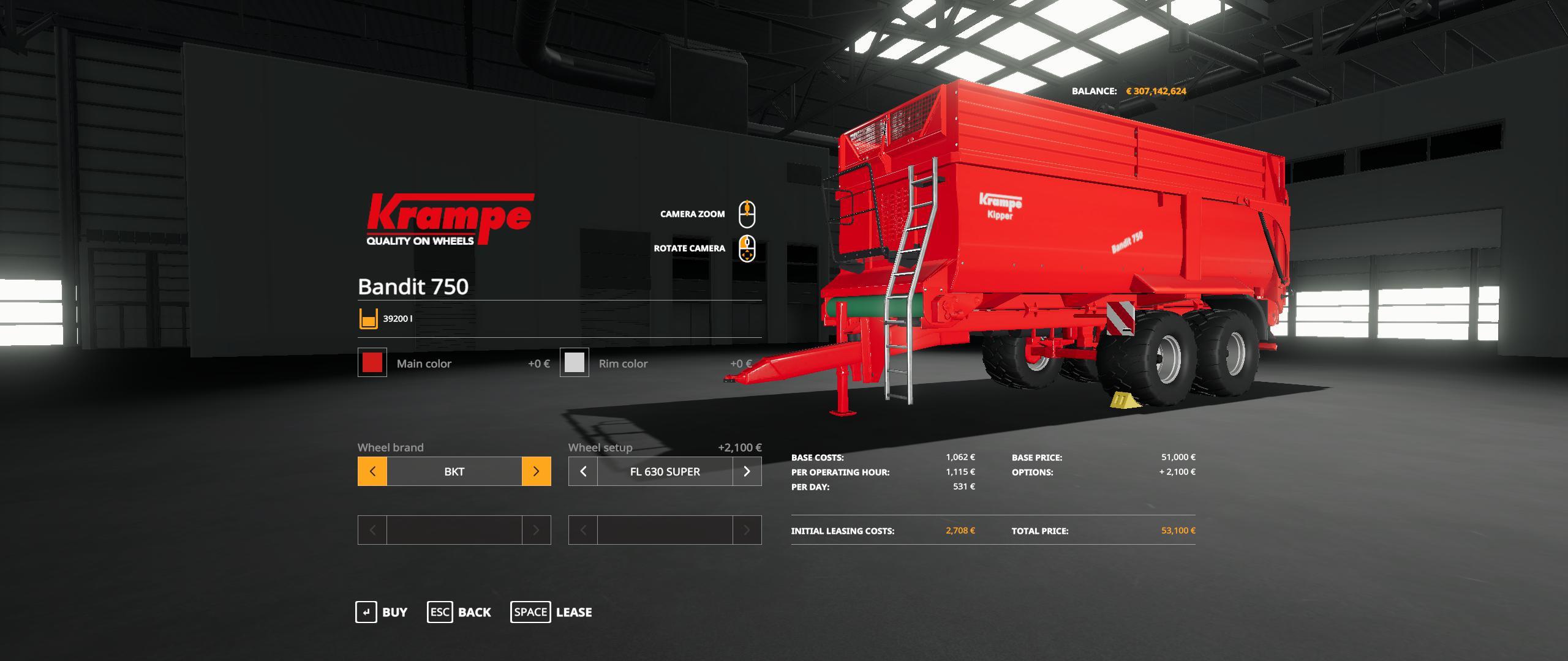Krampe Bandit 750 By Gamling v 1.0
