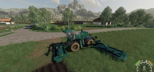 Krone BiG M500 Mower v 1.0