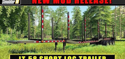 LT-58 ShortLog Trailer v 1.0