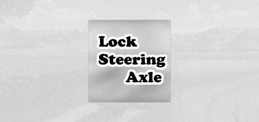 Lock steering axle v 1.0.1