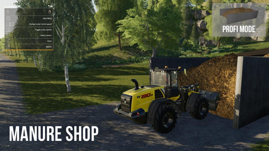 Fs19 Manure Shop