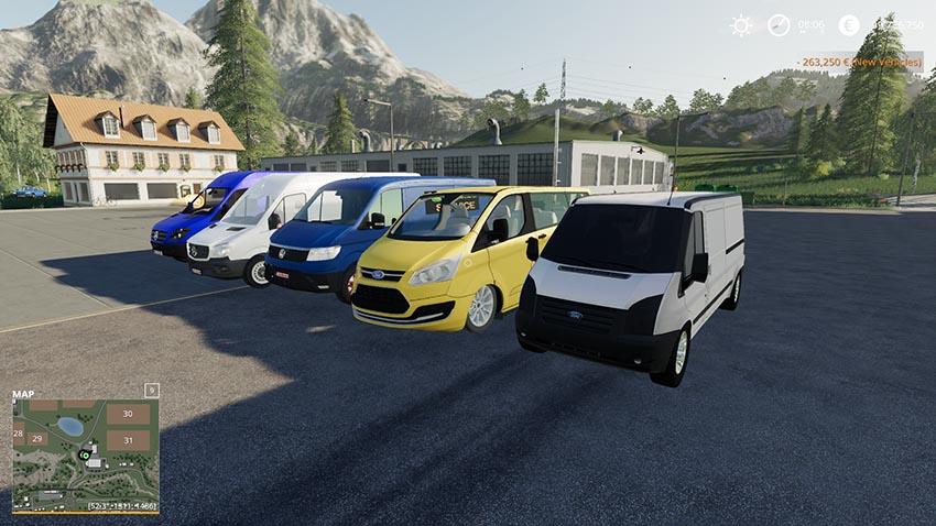 Minibus pack v 1.0