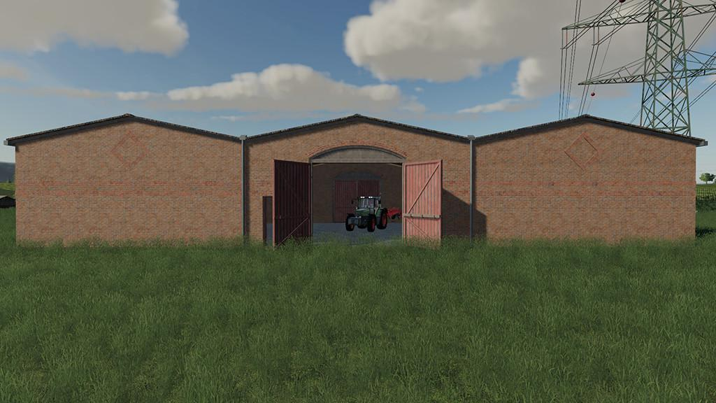 Multi Purpose Barns With Red Doors v 1.0