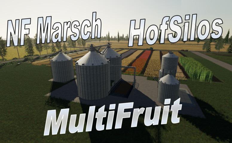 Multifruit Silo mit Erweiterung v 1.0