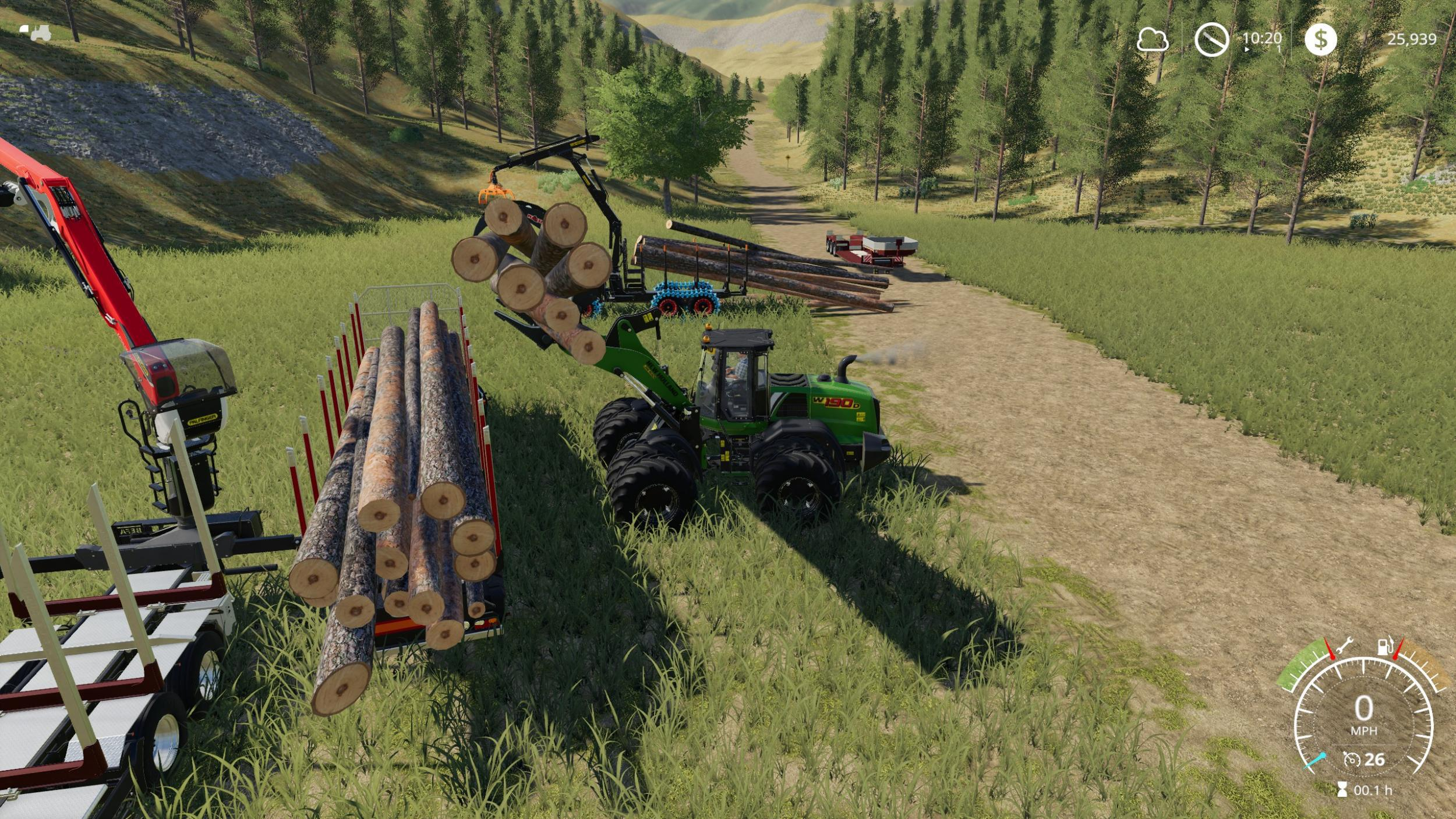 New Holland 190 Wheel loader pack v 1.0