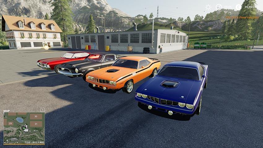 Pack American sport classics v 1.0