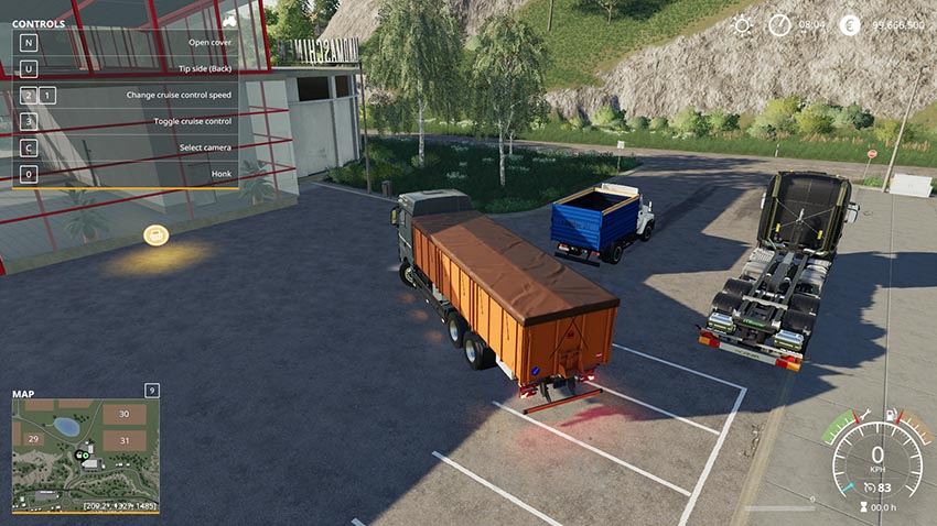Pack dump trucks with trailers v 1.0
