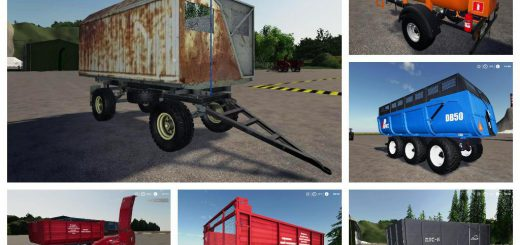 Pack trailers for tractor v 1.0