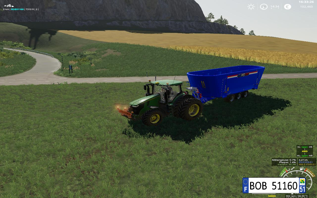Peecon Big Mixer Wagon  v 1.0