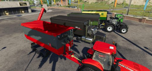 Peecon hooklift Auger Container v 1.0