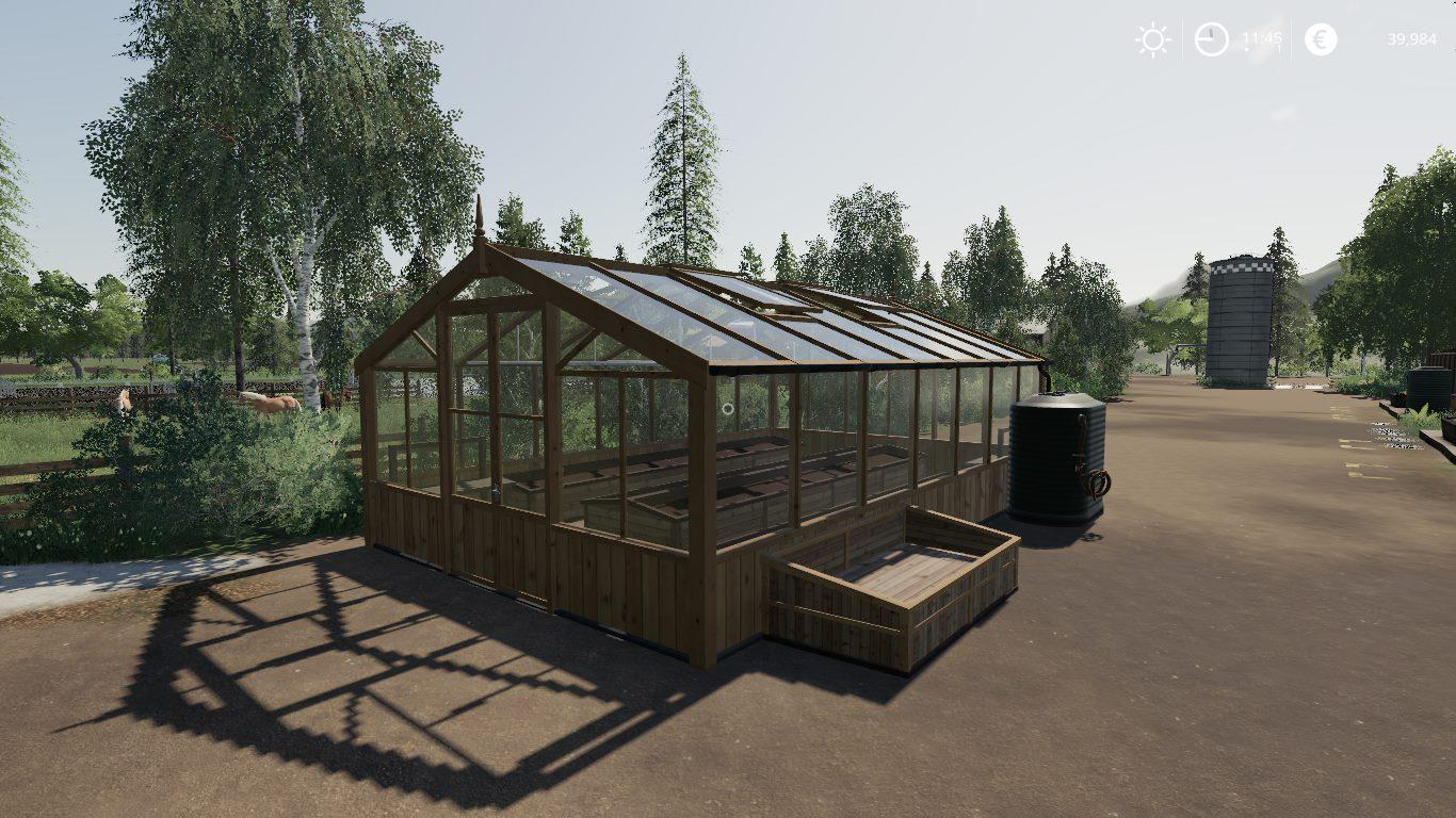 Placeable Greenhouse set by Stevie