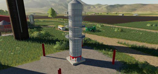 Placeable grain dryer extension v 1.0