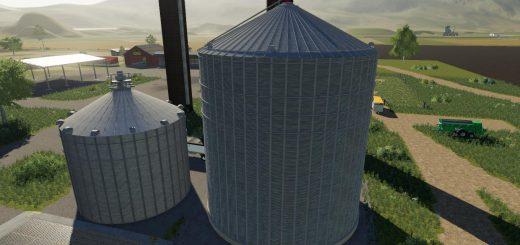 Placeable large grain bin extension v 1.0