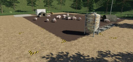 Placeable open Pig Area v 1.0