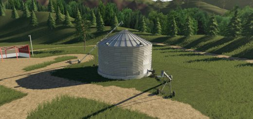 Placeable single grain silo v 1.0