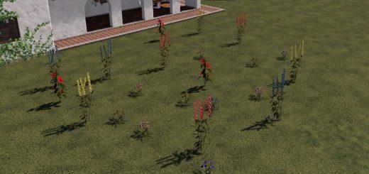Plazierbare Blumen Pack v 1.0