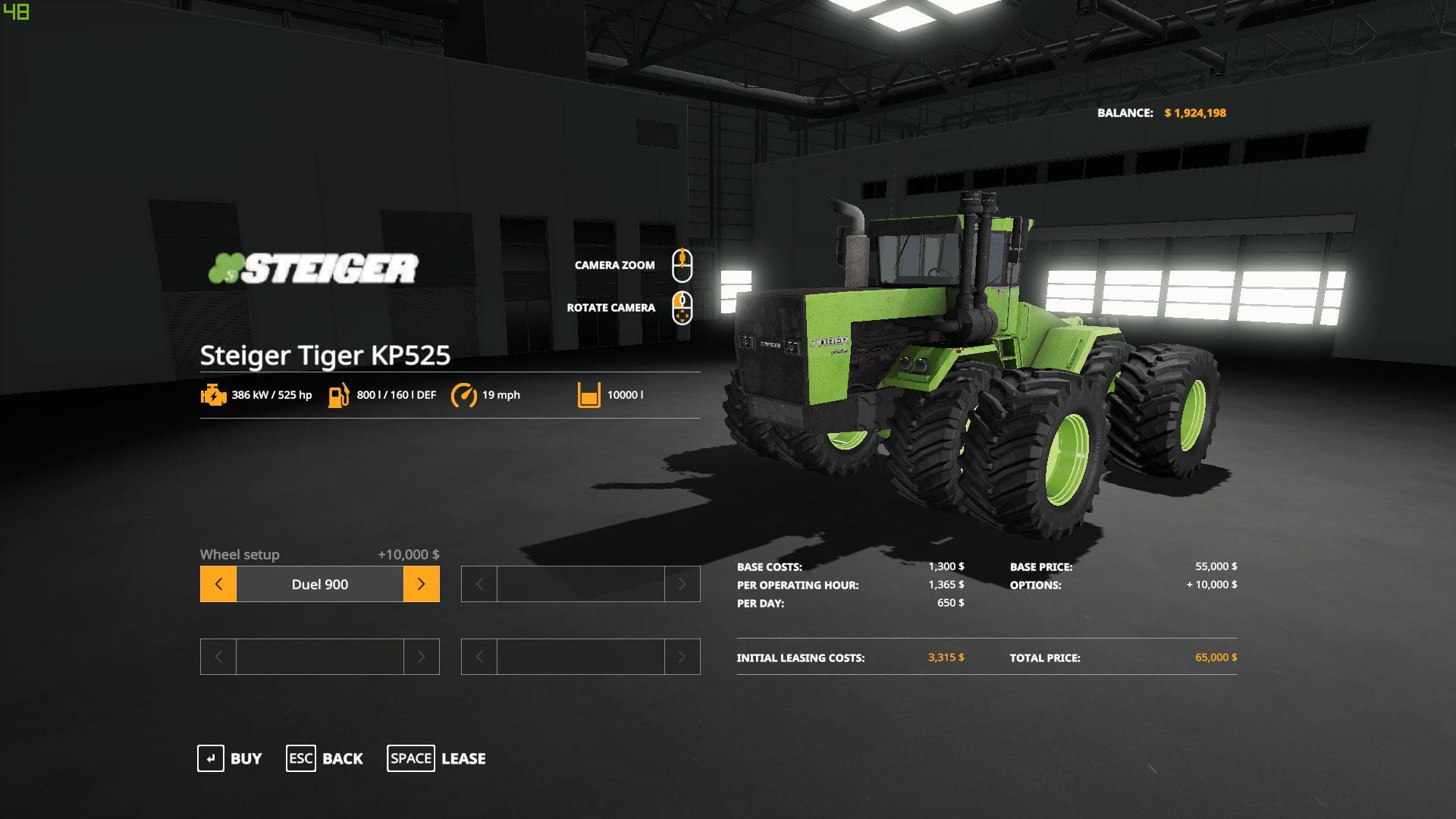 Steiger Tiger KP525 v 1.0