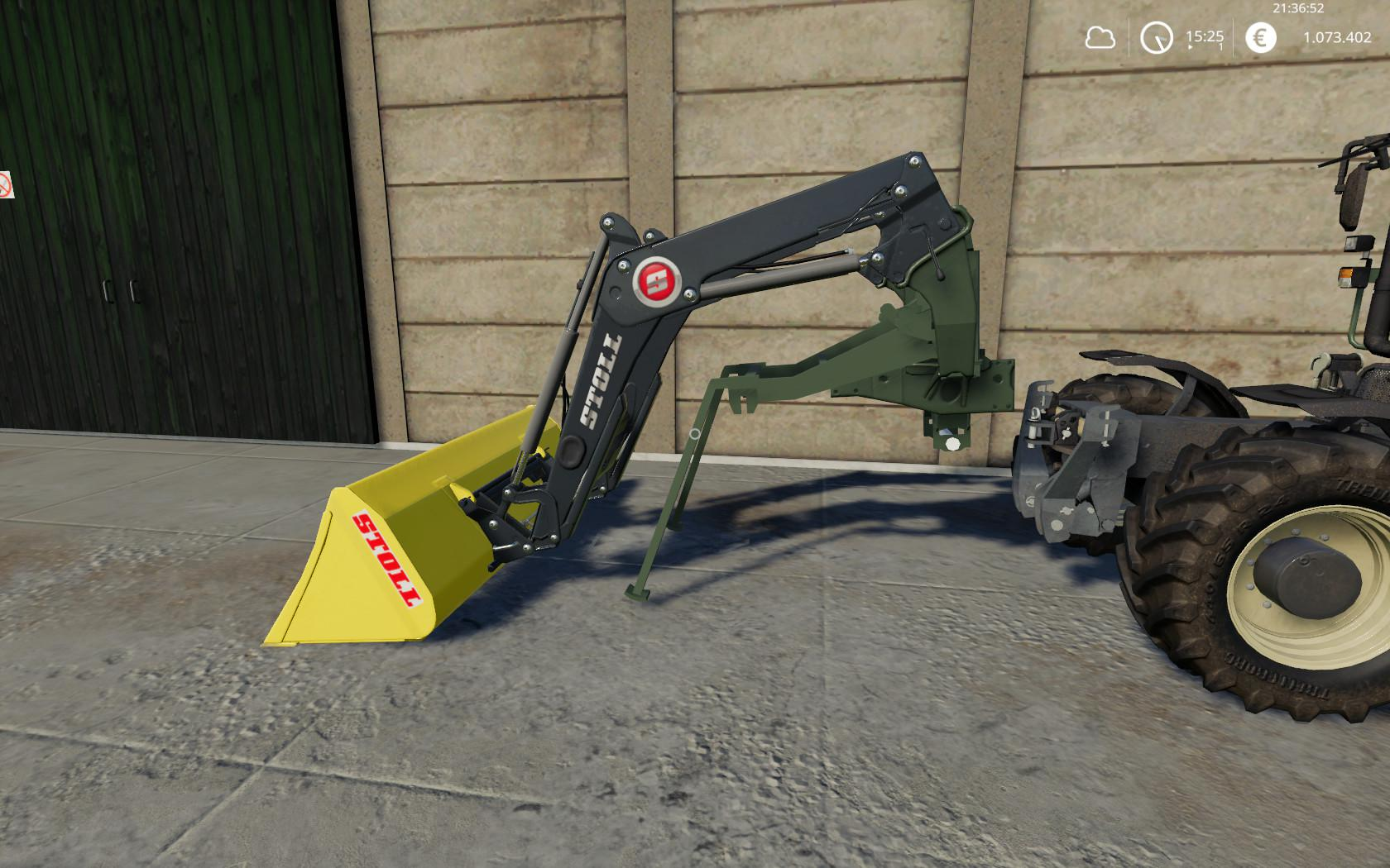 Stoll FL Adapter for Fendt F 380 GTA v 1.0