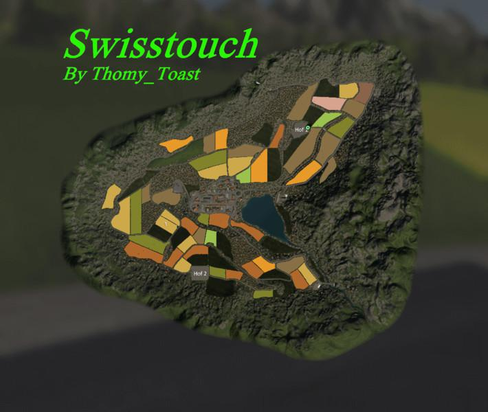 Swisstouch Map v 1.0