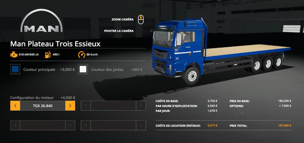 Truck And Trailer Man v 1.0