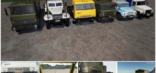 Trucks Paсk Rus v 1.0