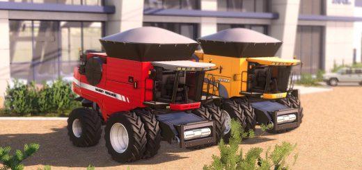 Valtra Bc 8800E + Massey Ferguson 9895 v1 .0