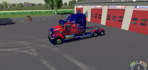 Western Star Optimus Prime v 1.0