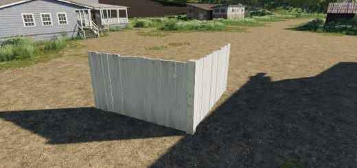 Wooden Fences Placeable v 1.0