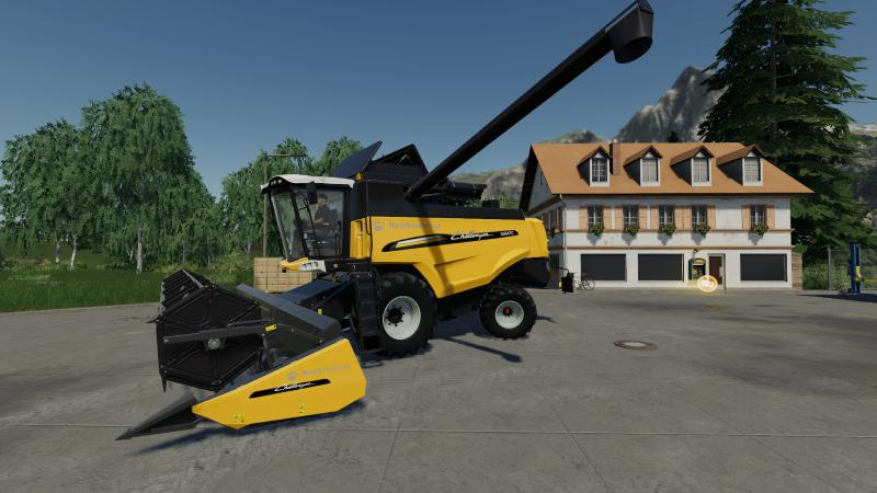 AGCO Combine Harvester Set v 1.0