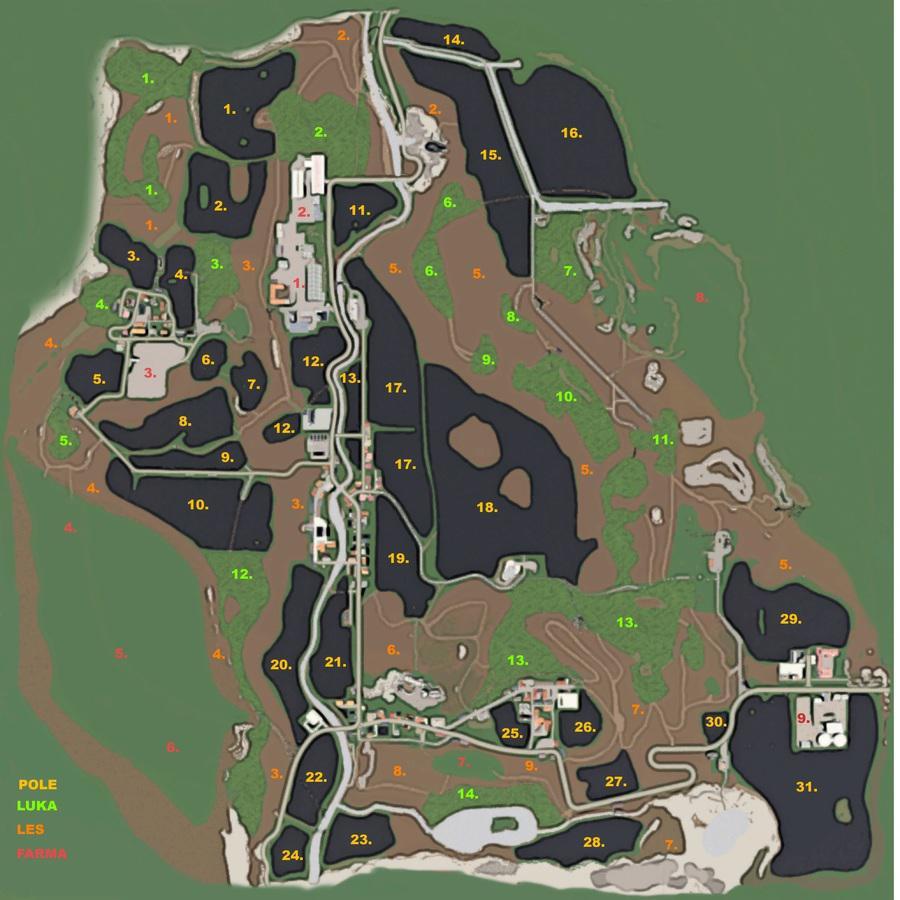 Agropodhradie Map v 2.0