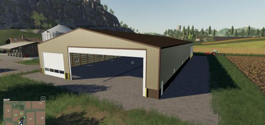 Big Shed 19 Rolldoors v 1.0