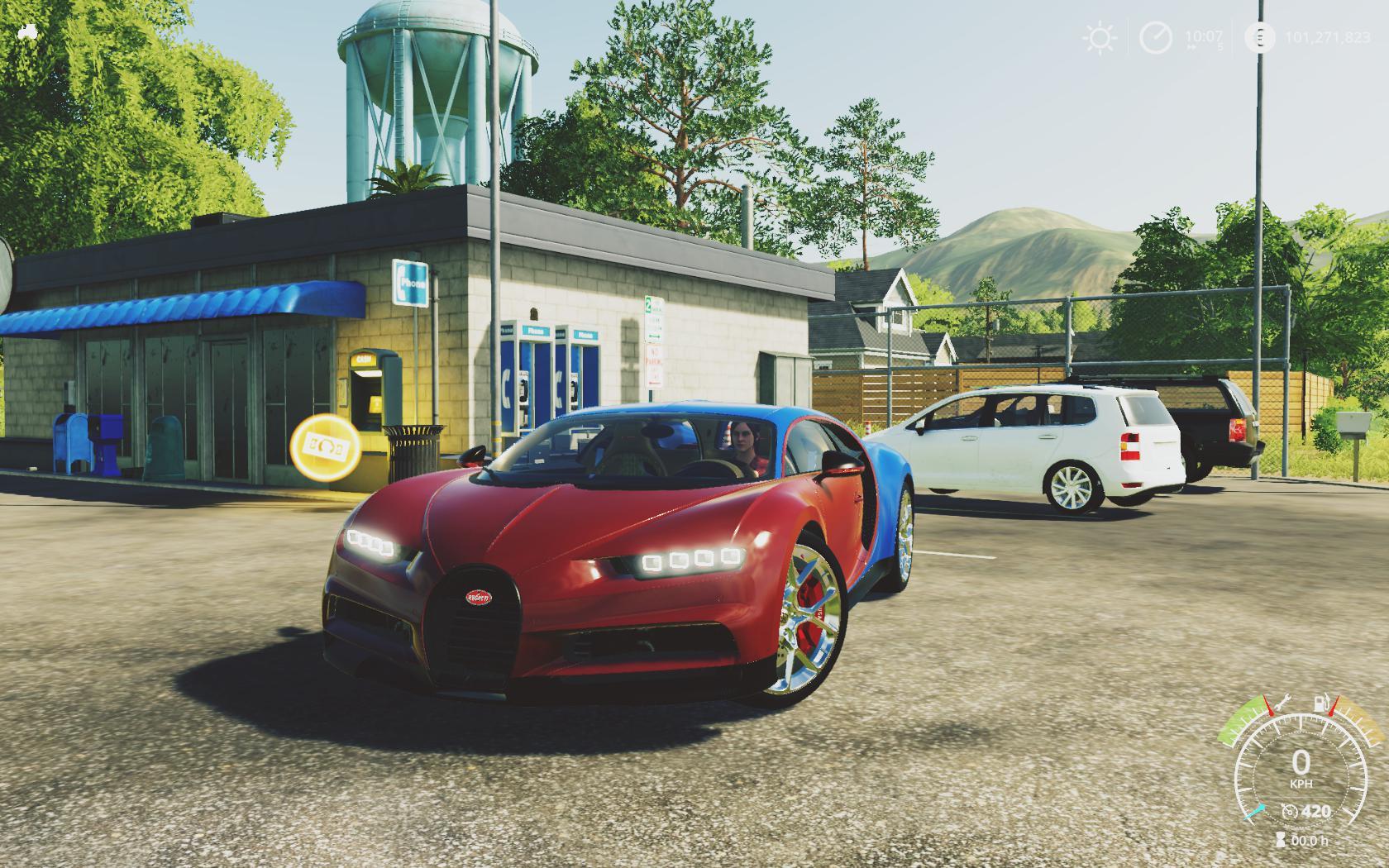 Bugatti Chiron Sport v 1.0
