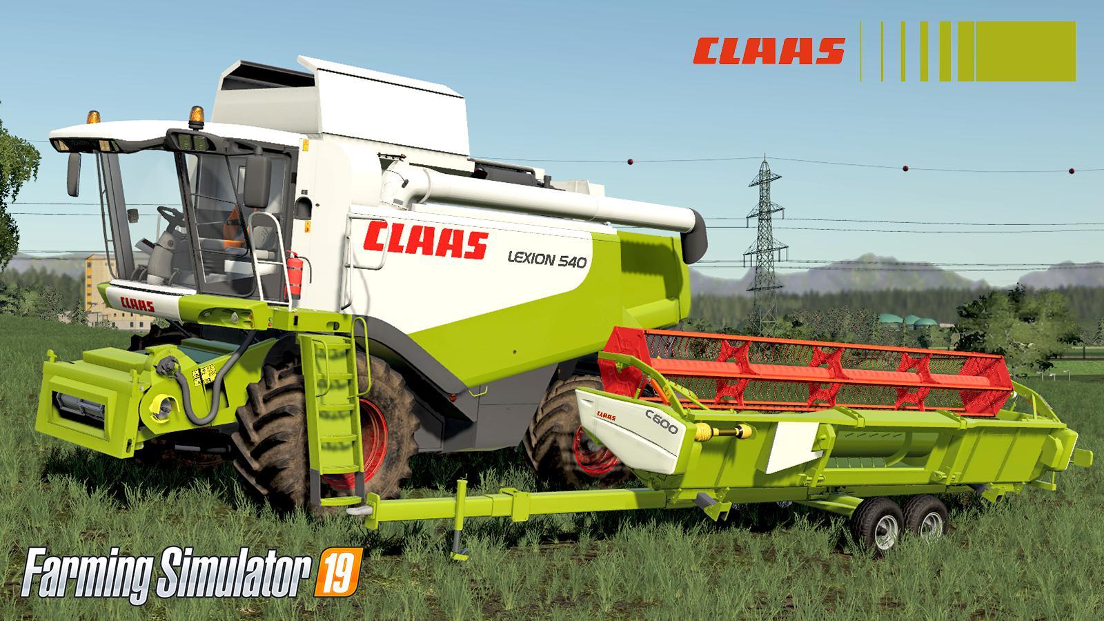 Claas Lexion 530-540 v 1.0