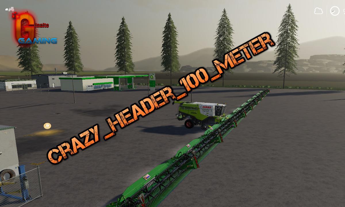 Crazy Header 100 Meter v 1.0