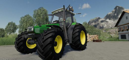 Deutz-Agrostar Clear view with color selection v 1.0