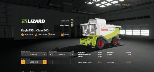 Eagle355th Claas 540 Pack v 1.0