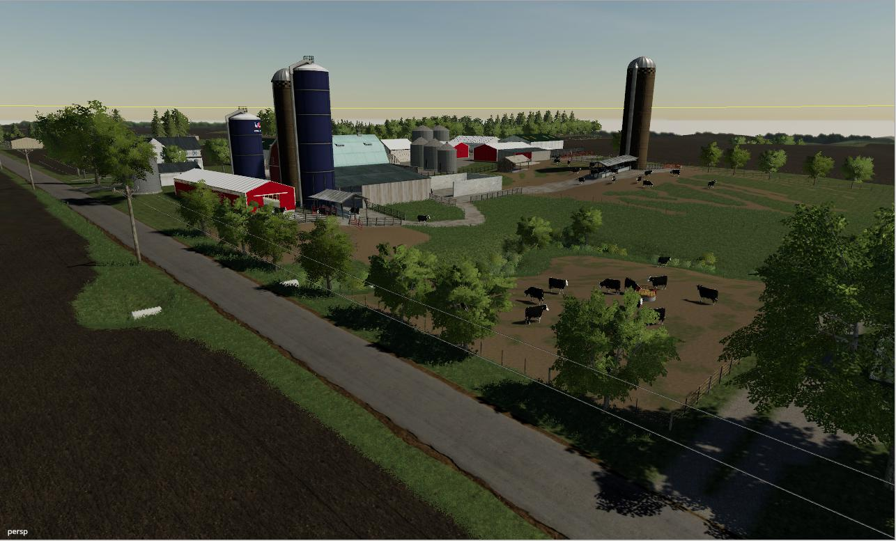 Farms Of Madison County 4X map v 1.0