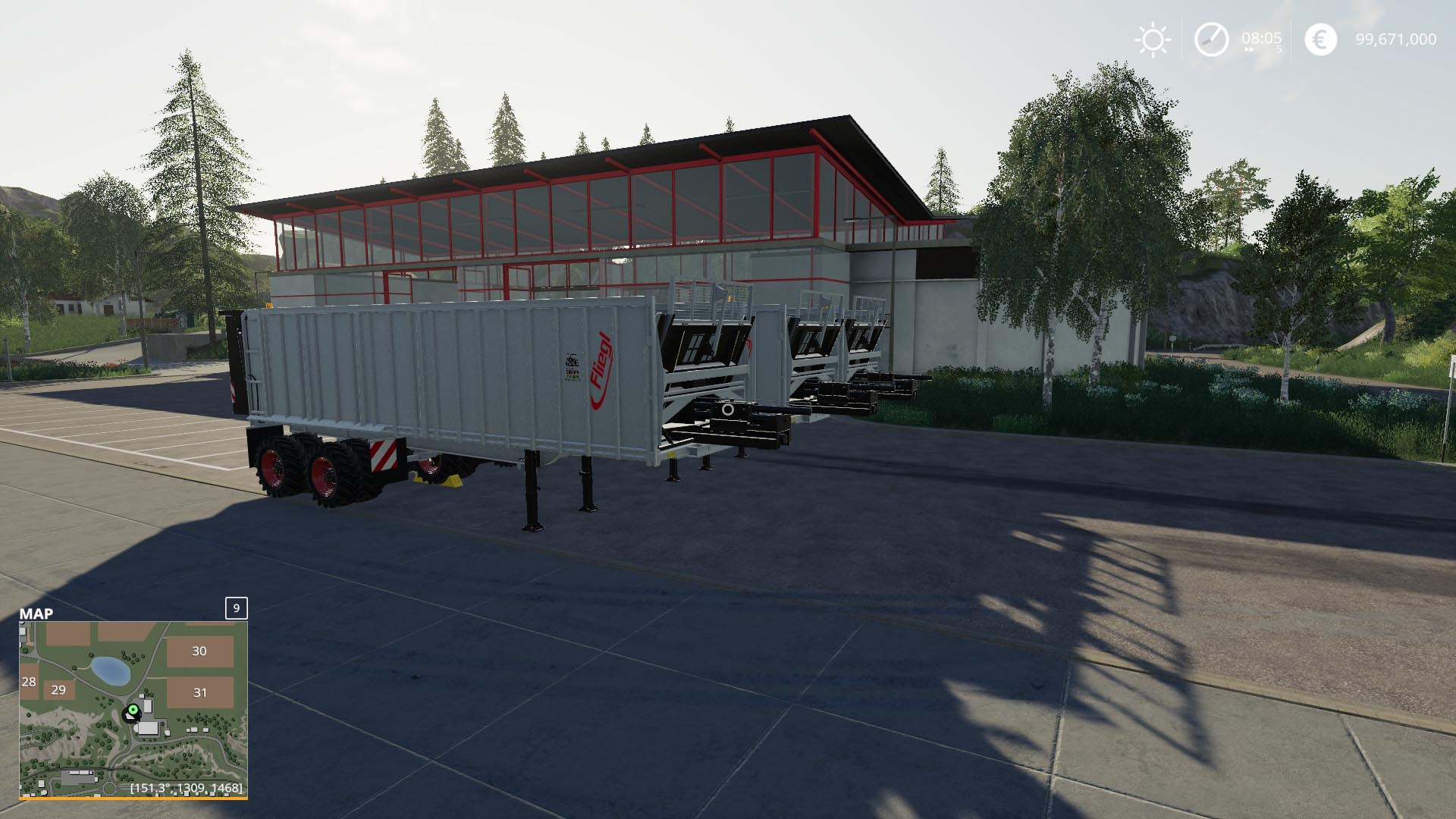Fliegl ASS298 Semi-Trailer v 1.0