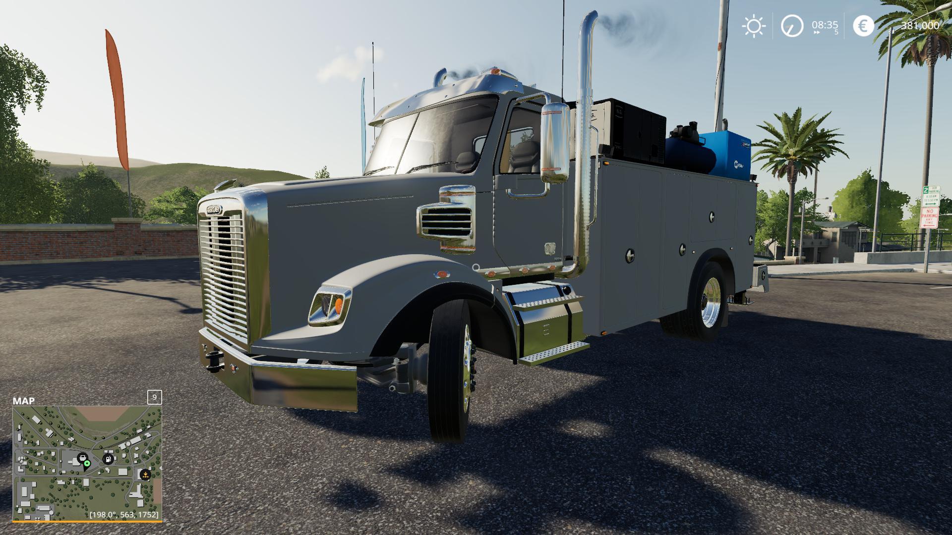 Freightliner Service Truck v 1.0   FS19 mods, Farming ...Kenworth Dump Trucks Fs19