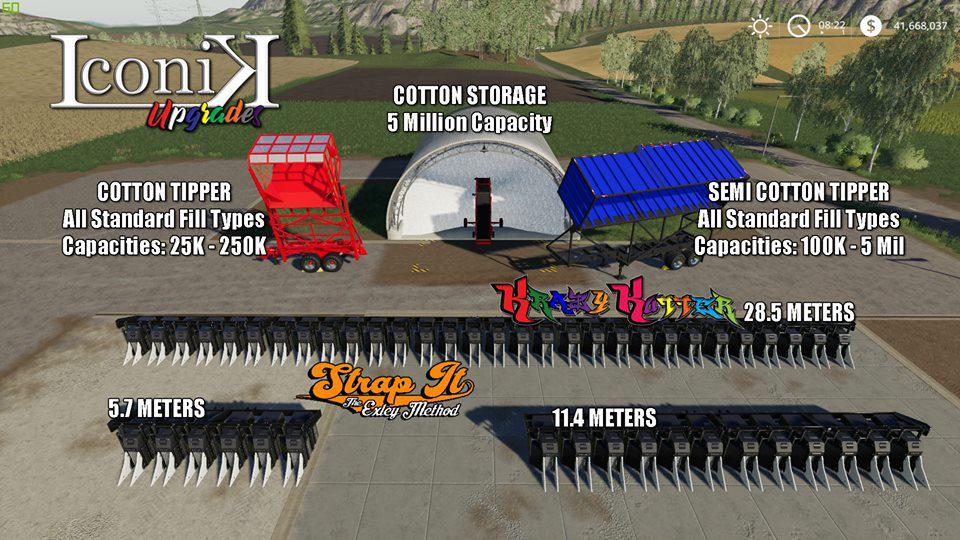 Iconik Cotton Addon Pack v 1.0