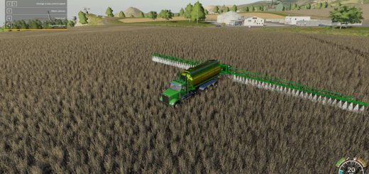John Deere 4045 Hooklift Sprayer v 1.1