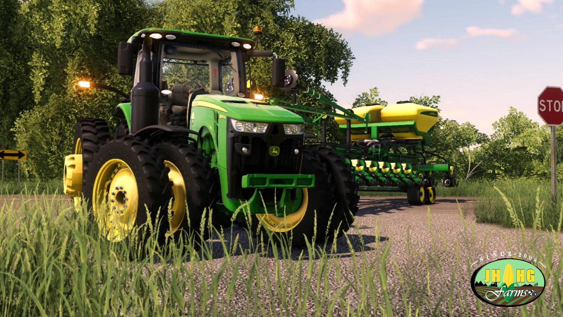 John Deere 8R US Series 2018 v 3 1 | FS19 mods, Farming simulator 19