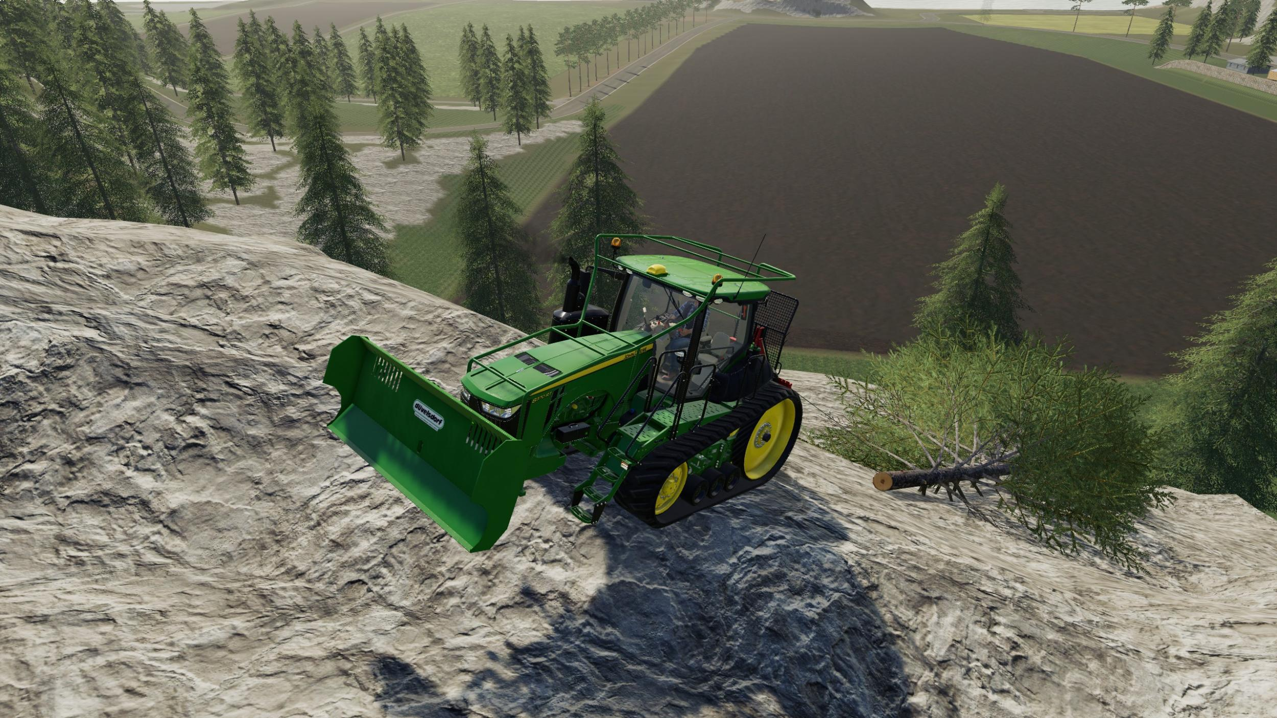 John Deere 8rt forest edition v 1.0