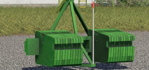 John deere weight v 1.0