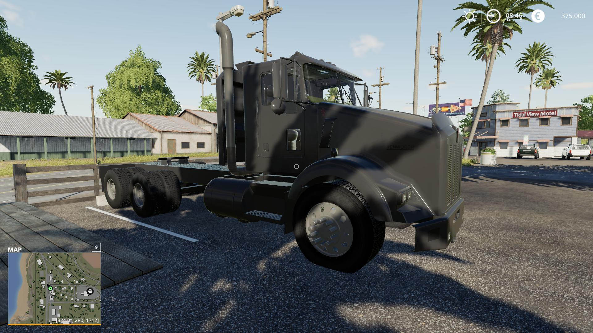 Kenworth T800 Midnight Edition v 1.0