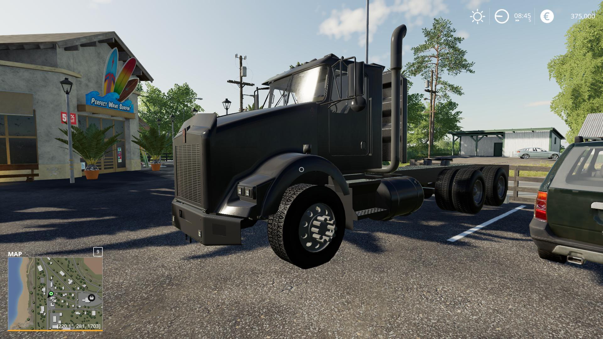 Kenworth T800 Midnight Edition V 1 0 Fs19 Mods Farming Simulator 19 Mods