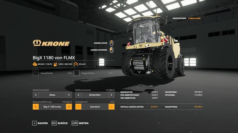 Krone BigX 1180 v 1.0