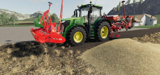 Kuhn HR4004 front power harrow v 1.0