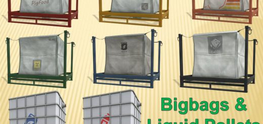 BIGBAGS & LIQUID PALLETS v 1.0